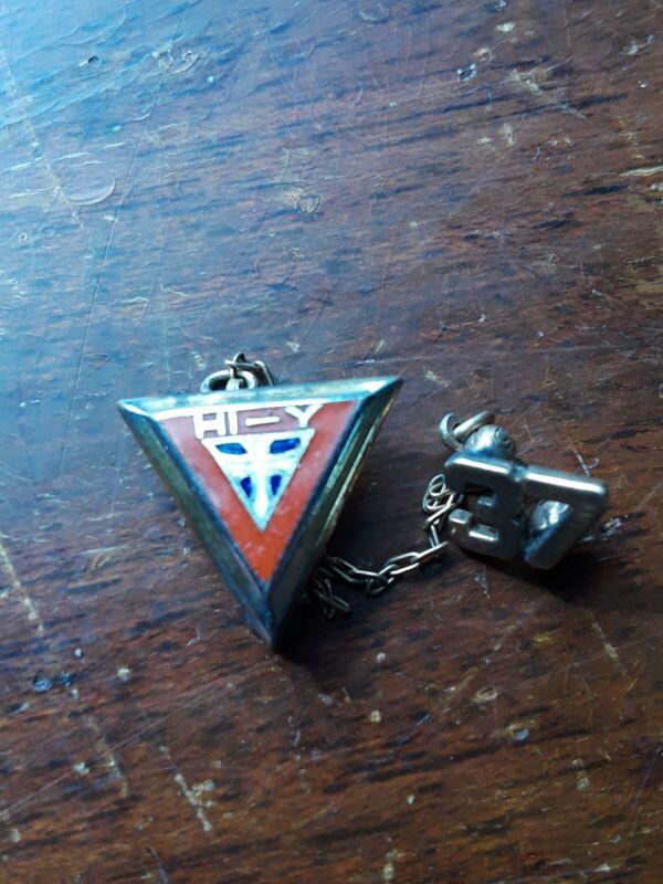 Vintage Hi-Y 1937 YMCA Members Lapel Pin