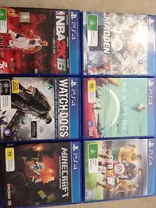 PS4 Games For Sale. Cheap!!! Sandgate Brisbane North East Preview