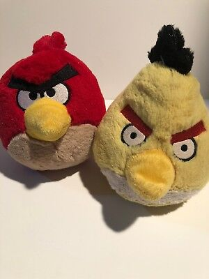 Red Angry Birds Plush Soft Toy Stuffed Animal