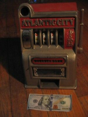 Vintage Atlantic City Slot Machine Bonanza Bank