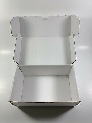 50 - 6x4x3 White Corrugated Shipping Mailer Packing Box Boxes Lot Of 50 Boxes
