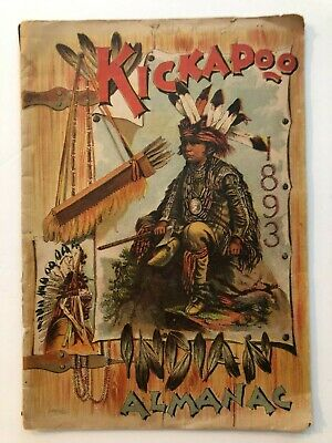 1893 Kickapoo Indian Medicine Booklet