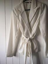 Tikito lined ladies white jacket. Near new. Alderley Brisbane North West Preview