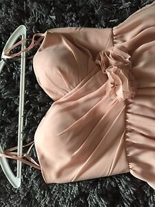 Pink short formal women's dress size 0-4