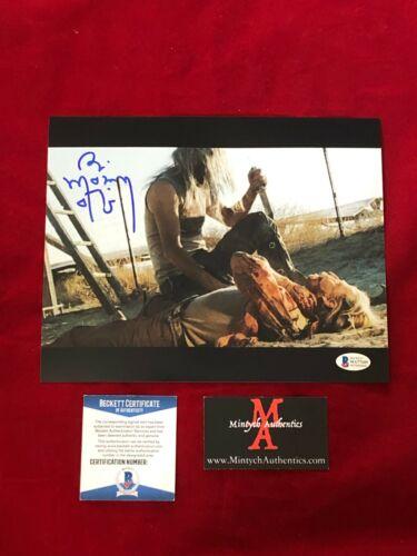 BILL MOSELEY SIGNED 8x10 PHOTO THE DEVIL'S REJECTS! BECKETT COA! OTIS! HORROR!