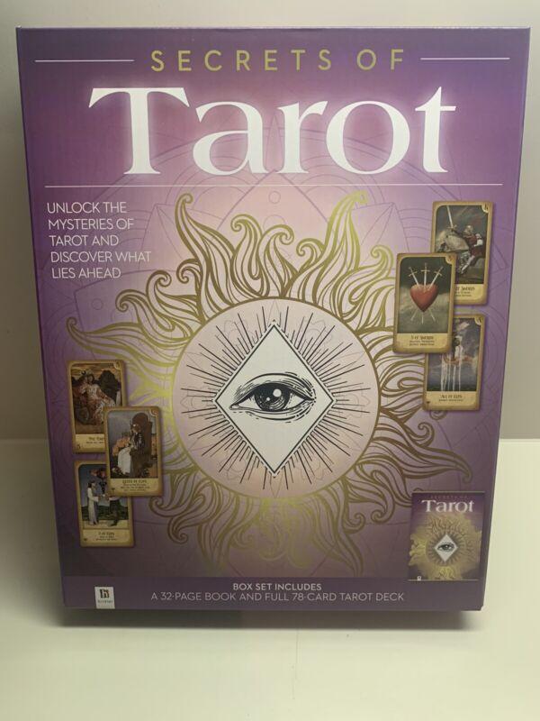 Secret of the Tarot Cards Box Set Book and Tarot Deck New FREE Shipping!