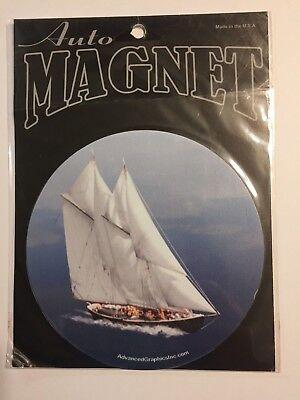 Yachting Boat Magnet Magnetic Car Auto Kitchen Fridge Locker