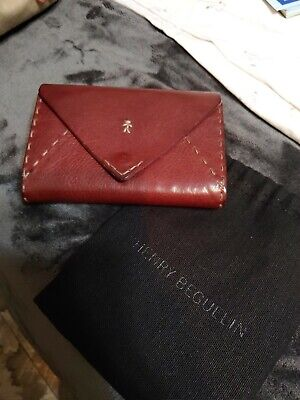 Henry Beguelin Red Wallet