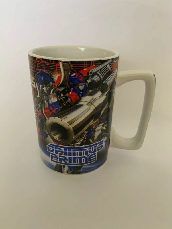 Transformers Kinnerton Coffee Mug 2007 Hasbro Pre Owned VGC