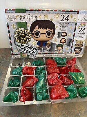 Harry Potter 2020 Edition Funko Pocket Pop! Advent Calendar 50730 Open Complete