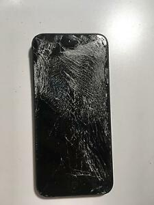 Shattered Black iPhone 5, Still Works Noosa Heads Noosa Area Preview
