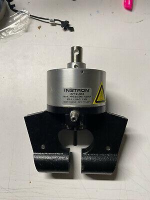 Instron 2712-003 Pneumatic Action Grips Tensile Tester - No Jaw Face