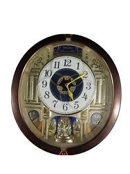 Seiko Golden Pillars Melodies In Motion Wall Clock QXM356BRH