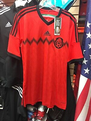 0da90cc4d6a Adidas MEXICO Soccer Jersey Retro 2014 WORLD CUP Jersey~Mens Size M