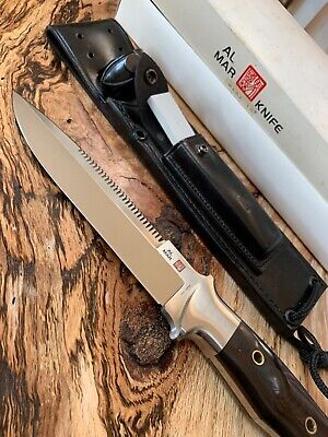 Rare Al Mar Sere VIII-A 3008-A never used Knife original Sheath & Box Vintage