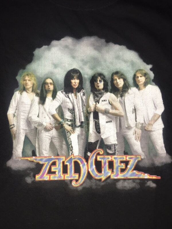 Angel Rock Band Official Tour Shirt Casablanca Brand New Punky Meadows Frank