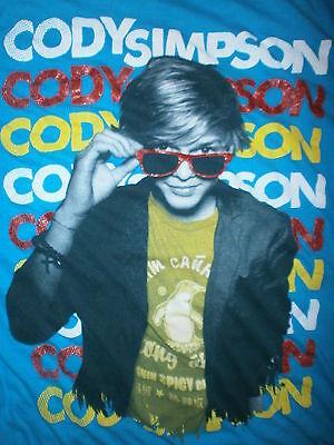 CODY SIMPSON T SHIRT Sunglasses Cute Teen Pop Heartthrob Surfboard Turquoise (Cute Teen Sunglasses)