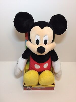 "Disney Junior Mickey Mouse Clubhouse Large 17"" Plush Mickey Mouse New In Box"