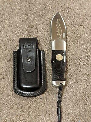 Vintage ag russell knife sun fish folding knife Texas ranger 2012