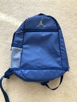 NIKE AIR JORDAN SKYLINE WEATHERED SPORT BACKPACK BAG (TEAM ROYAL) LAPTOP RARE