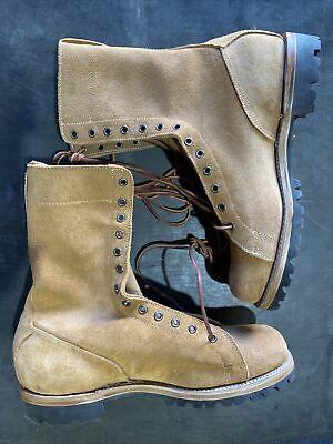 French Mle 50 Para Boots Bottes de Saut New Reproduction Size 10D