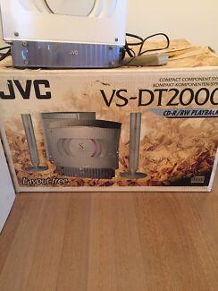 JVC compact hi fi system