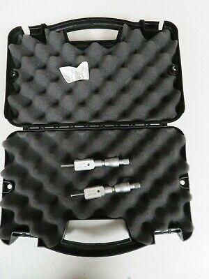 Mitutoyo .2-.24.0001 Intrimikbore Micrometer Set In Case - Nt14