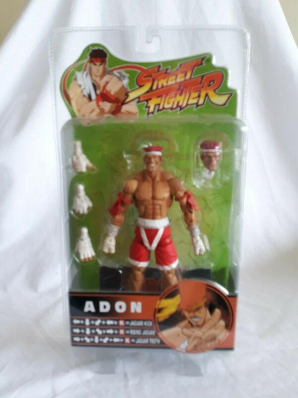Sota Toys Street Fighter Round 3 Action Figure Adon red/white,  A10
