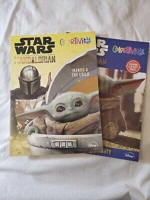 Baby Yoda Coloring and Activity Book- The Mandalorian