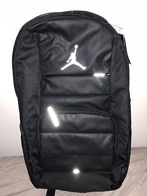c0a87d48a24b Nike Air Jordan All World Laptop Backpack 9A1640-023 Black-Silver