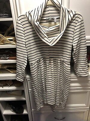 A Pea in The Pod Maternity Blouse Size L Pregnancy Blouse/Sweater/Tunic Large