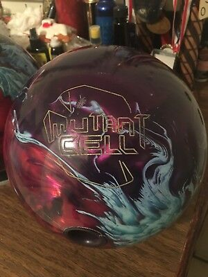 15# Roto Grip Mutant Cell Prl Bowling Ball, used, exc