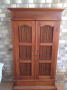 Balinese Bookcase/Cabinet Elanora Gold Coast South Preview