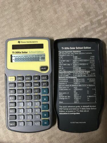 Texas Instruments TI-30Xa SE