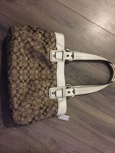 Authentic Coach bag - PRICE REDUCED