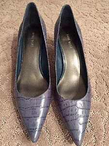 Nine West Blue leather shoes