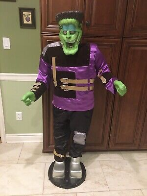 Gemmy Lifesize Dancing Frankenstein Monster (AS IS - FOR PARTS OR REPAIR)