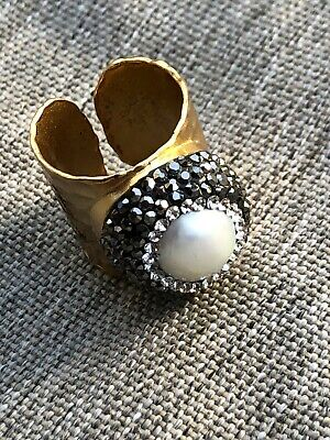 - Nordstrom Design Pearl Ring size 6.5