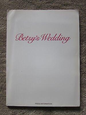BETSY'S WEDDING Press Kit - MOLLY RINGWALD, ALAN ALDA, ALLY SHEEDY