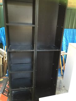 Brown IKEA billy bookcases x2 Concord West Canada Bay Area Preview