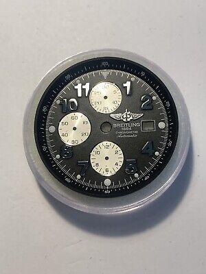 Mens Breitling Super Avenger 48 MM Black Dial