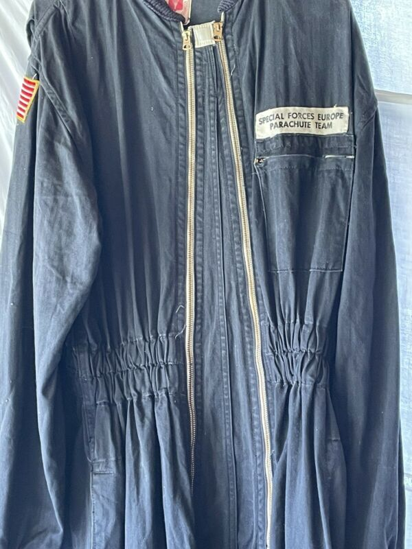 Pioneer Parachute Company Special Operations EU USA Patches Paratrooper Coverall