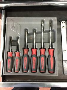 Snap on screw drivers