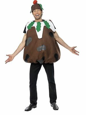 Christmas Pudding Ladies / Mens Fancy Dress Xmas Party Costume Outfit Adult