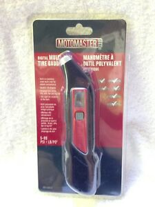 Digital Tire Pressure Gauge with Multi-Tool Built in, brand new