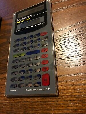 The Educator Advanced Calculator Overhead Projector Vintage