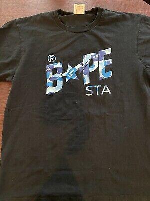 A Bathing Ape Bape Sta Mens T Shirt XL Black