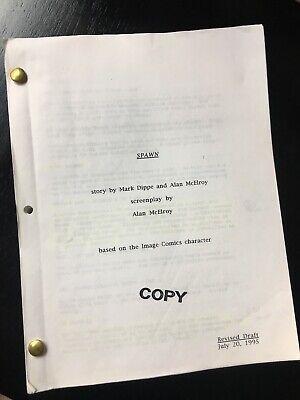 Spawn original vintage feature script - 1995 -Michael Jai White / John Leguizamo