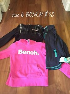 girls size 6t BENCH