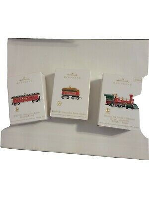 Hallmark Lionel The Nutcracker Route Christmas Train 2012 Ornament Set